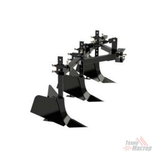 Тройной окучник для минитрактора Скаут