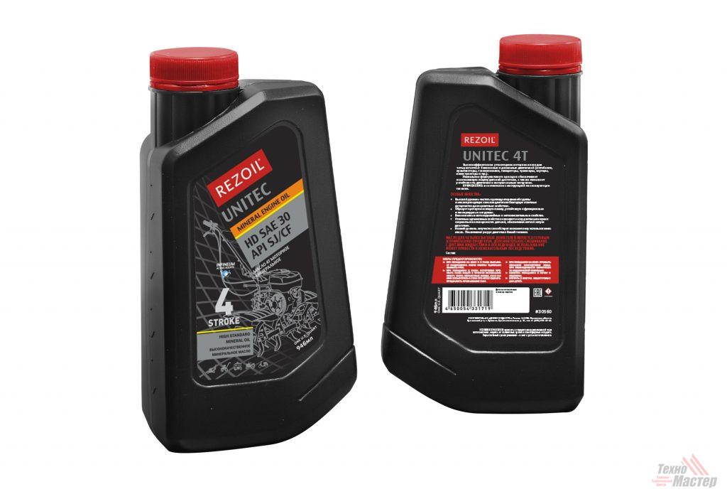 Масло REZOIL UNITEC 4-т минеральн HD SAE 30 API SJ/CF 0,946