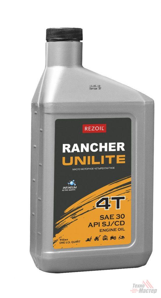 Масло Rancher UNILITE 4т минеральн 0/946 REZOIL