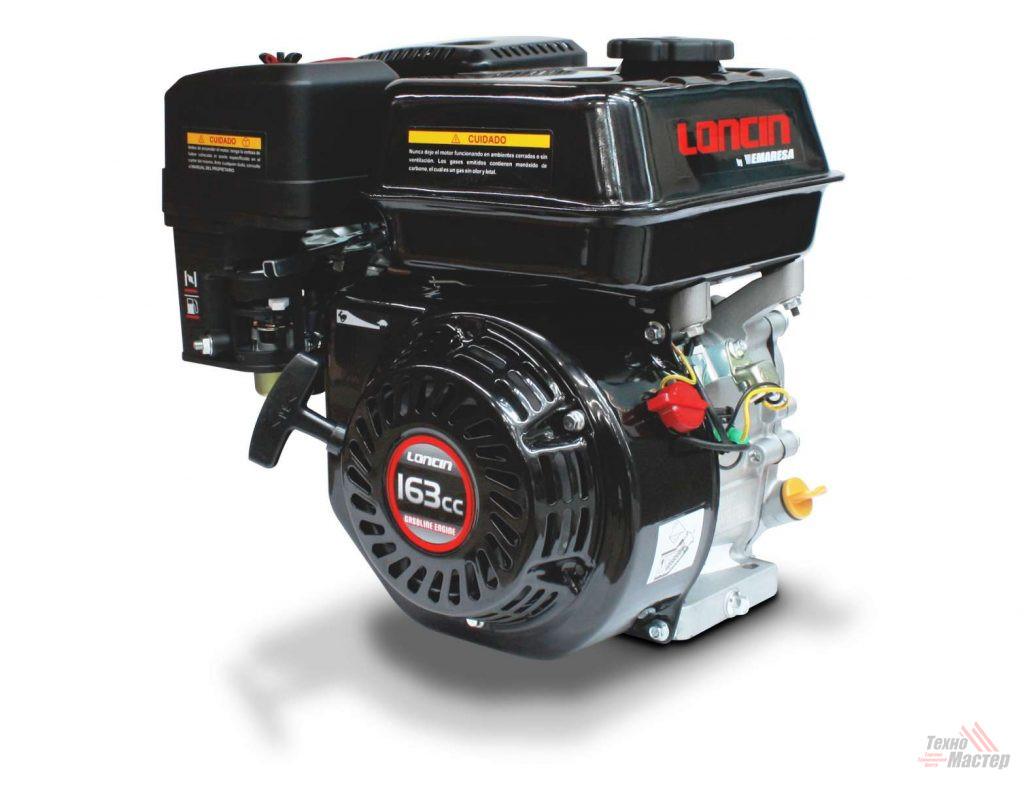 Двигатель бензиновый Loncin G160F (A тип)